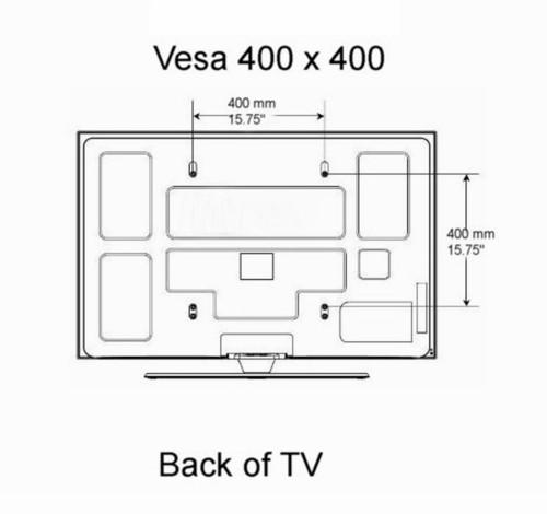 Vesa 400x400 Mountsdirect Com Plasma Tv Mount Lcd Tv